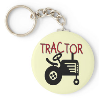 TRACTOR TShirts and Gifts Keychain