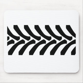 Tractor Tyre Tread Marks Mouse Pad