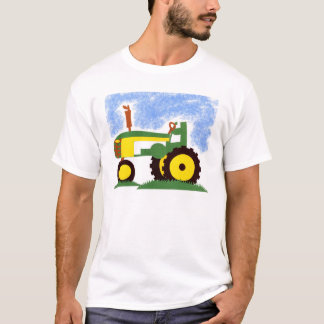 Tractor under Blue Sky T-Shirt