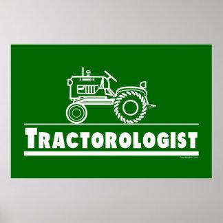 Tractor verde Ologist Impresiones