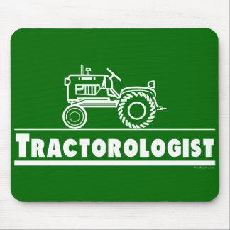 Tractor verde Ologist Tapetes De Ratones