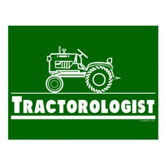 Tractor verde Ologist Tarjetas Postales