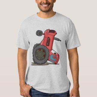 Tractor volcado camisas