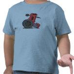 Tractor volcado camiseta
