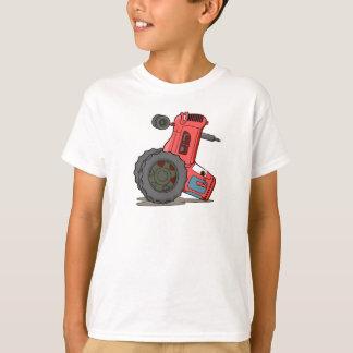 Tractor volcado remeras