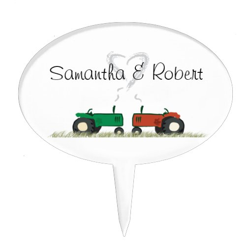 Tractor Cake Toppers For Wedding