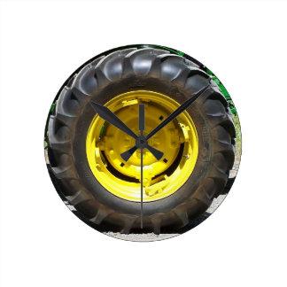 Tractor Wheel Clock