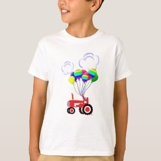 Tractor with Balloons T-Shirt