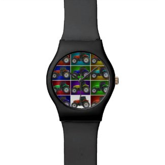 tractor wristwatch
