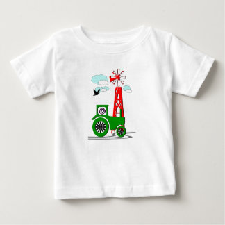 Tractore and more tower t shirt