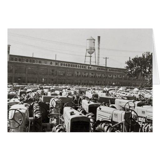 Tractores de Minneapolis-Moline: 1939 Tarjeta De Felicitación