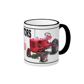 Tractores del líder taza de dos colores
