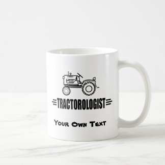 Tractores divertidos taza