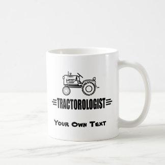 Tractores divertidos taza de café