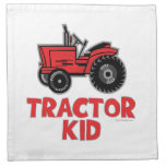 tractorkid_red cloth napkin
