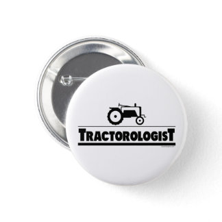 Tractorologist - Tractor Button