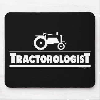 Tractorologist - Tractor Mouse Pad