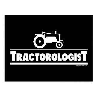 Tractorologist - Tractor Postcard