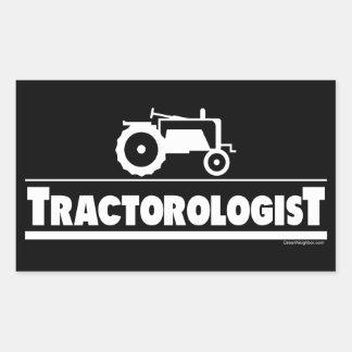 Tractorologist - Tractor Rectangular Sticker
