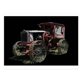 tractors 1 post card