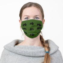 Tractors Adult Cloth Face Mask