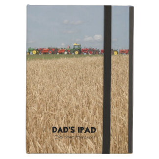 Tractors and Wheat Field Customizable Tablet Cover