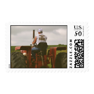 Tractors are Cool Postage