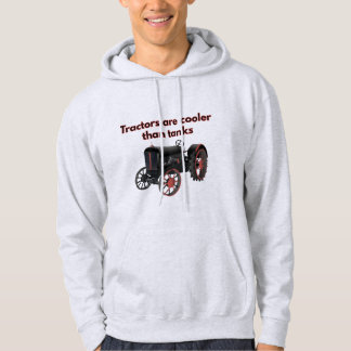 Tractors are Cooler than Tanks Hoodie
