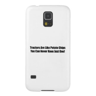 Tractors Are Like Potato Chips You Can Never Have Case For Galaxy S5
