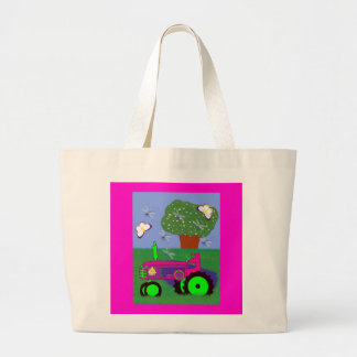 Tractors Aren't Just for Boys! Tote