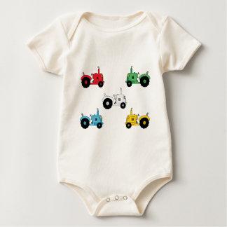 Tractors Baby Bodysuit