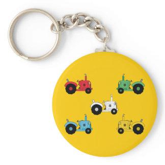 Tractors Keychain