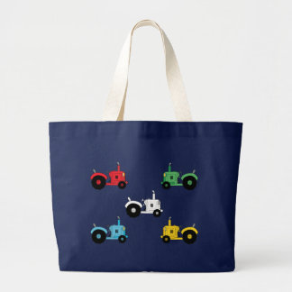 Tractors Large Tote Bag