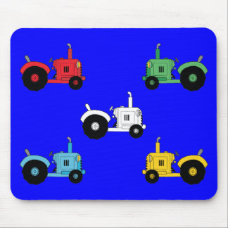 Tractors Mouse Pad
