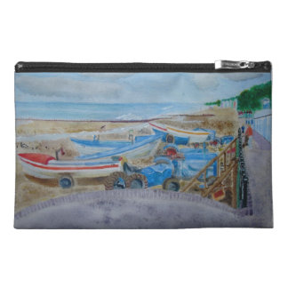 Tractors on Cromer Beach Travel Accessory Bags