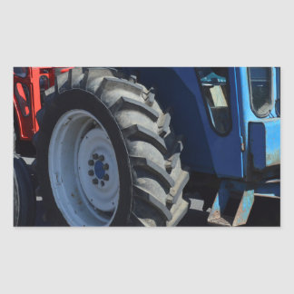 Tractors Rectangular Sticker