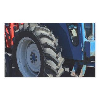 Tractors Rectangular Sticker