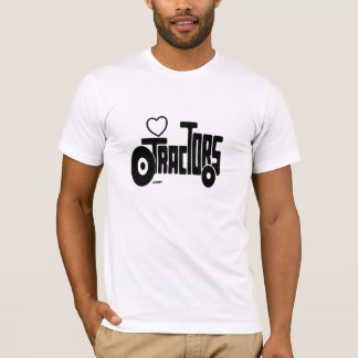 TRACTORS SILHOUETTE T-Shirt