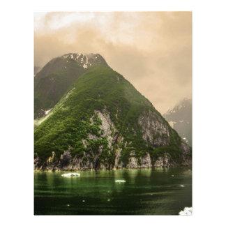 Tracy Arm, Alaska Letterhead