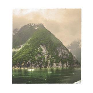 Tracy Arm, Alaska Note Pad