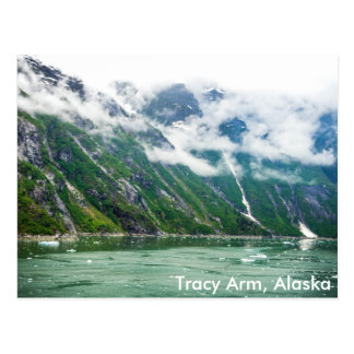 Tracy Arm, Alaska Postcard