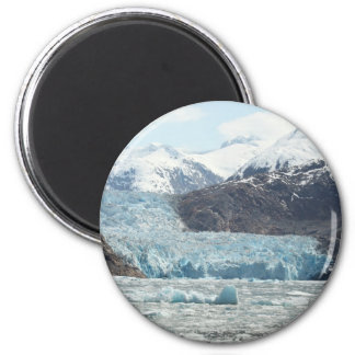 Tracy Arm Fjord 2 Inch Round Magnet