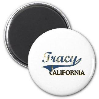 Tracy California City Classic Fridge Magnets