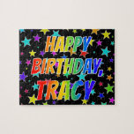 """[ Thumbnail: """"Tracy"""" First Name, Fun """"Happy Birthday"""" Jigsaw Puzzle ]"""