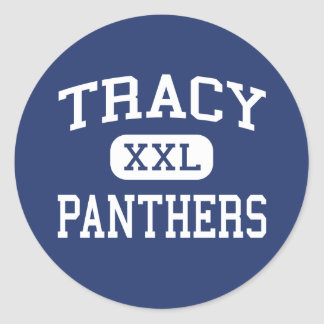 Tracy - Panthers - Area - Tracy Minnesota Sticker