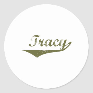 Tracy  Revolution t shirts Stickers