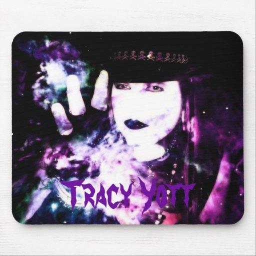 Tracy Yott Purple Nebula Mousepad