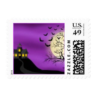 Tracy's Halloween - SRF Postage Stamp