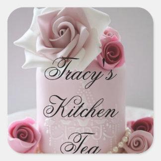 Tracy's Kitchen Tea Stickers