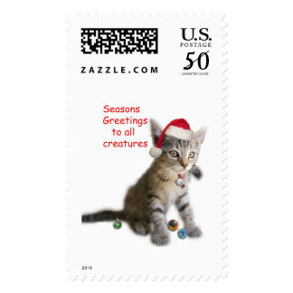 Tracy's Kitty Postage